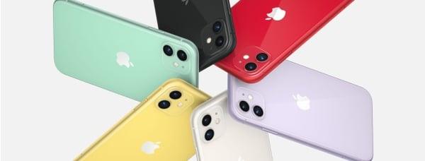 Le prix de l'iPhone 11 évolue selon le modèle que vous choisissez