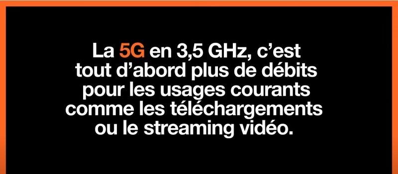 l'opérateur qui a le meilleur réseau 5G, c'est d'abord l'opérateur qui délivre les meilleurs débits en 5G