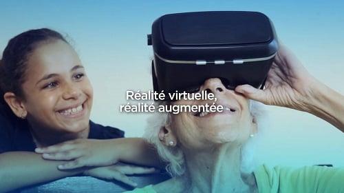 La 5G va banaliser la réalité virtuelle et la réalité augmentée.