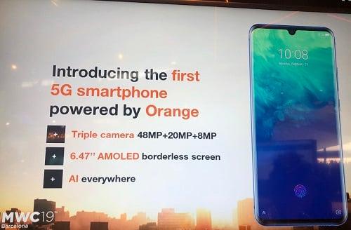 Orange va lancer un smartphone 5G en marque blanche