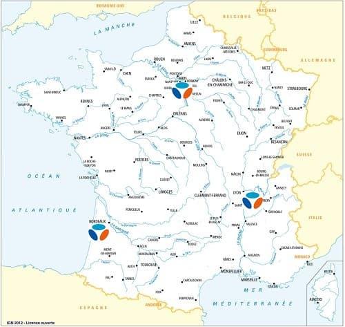 Carte des villes couvertes par la 5G Bouygues