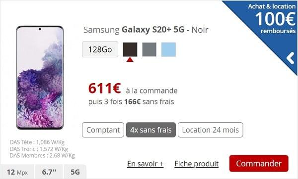 Des smartphones compatibles 5G sont déjà vendus sur le site internet de Free