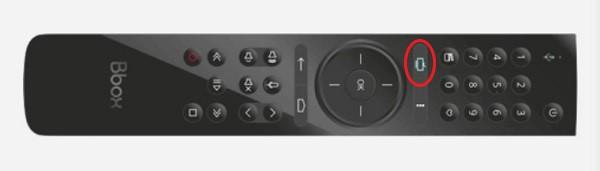 """On peut accéder à Netflix en appuyant sur la touche """"TV"""" de son décodeur TV Bbox."""