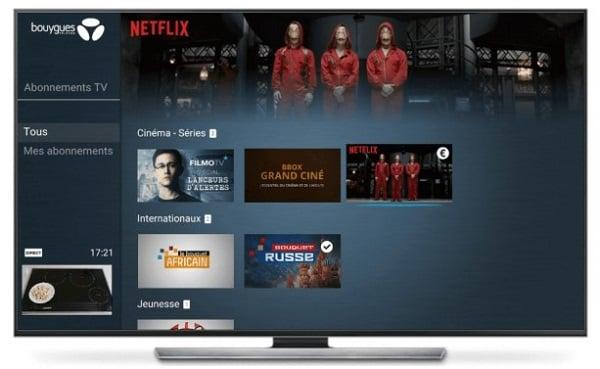 Il est possible de s'abonner à Netflix depuis sa Bbox.