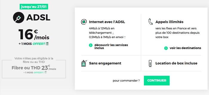 Abonnement RED Box : le meilleur prix pour Internet en ADSL en 2020