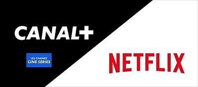 Canal+ avec Netflix dans le pack Ciné Séries