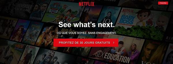 Netflix, leader de la vidéo en streaming