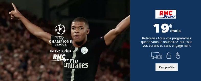 Rennes-Arsenal : regarder gratuitement sur RMC Story ou avec l'abonnement RMC Sport à 19 euros par mois