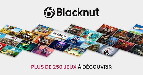 Plus de 250 jeux sont disponibles dans le catalogue Blacknut