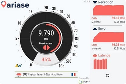 latence-speedtest-ariase