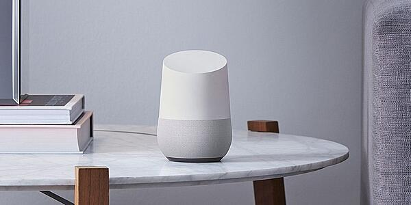 Eceinte connectée Google home