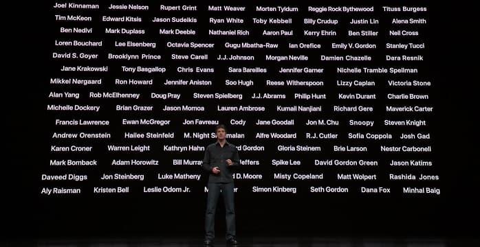 Le casting d'Apple TV+ envoie du rêve.