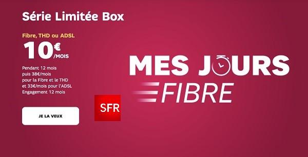 les abonnés ont jusqu'à 500 Mnb/s en fibre avec la série limitée SFR Box 7