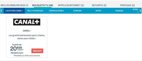 Il est possible de s'abonner à Canal+ depuis son espace client Bouygues Telecom