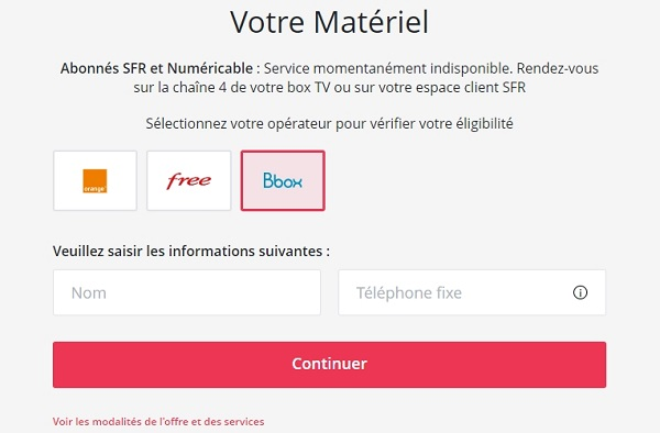 Il est possible de s'abonner à Canal+ Bouygues depuis le site internet de Canal+