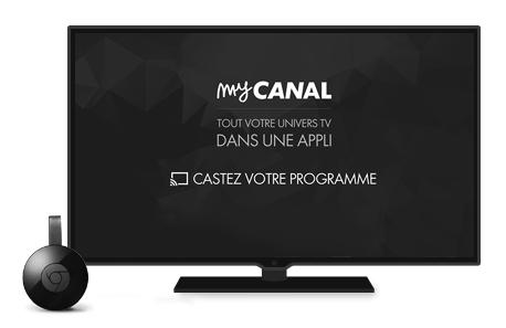 Avec Chromecast, choisissez votre programme sur votre smartphone ou votre tablette et diffusez le directement sur une TV, pour une expérience grand écran.