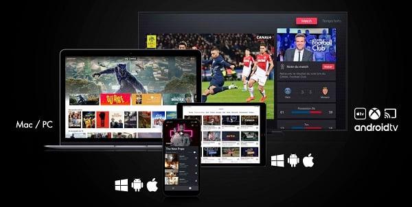 L'application myCANAL est compatible avec iOS, Windows et Android
