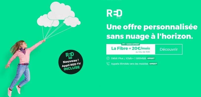 La Red Box à 20€ proposée en Juin 2021