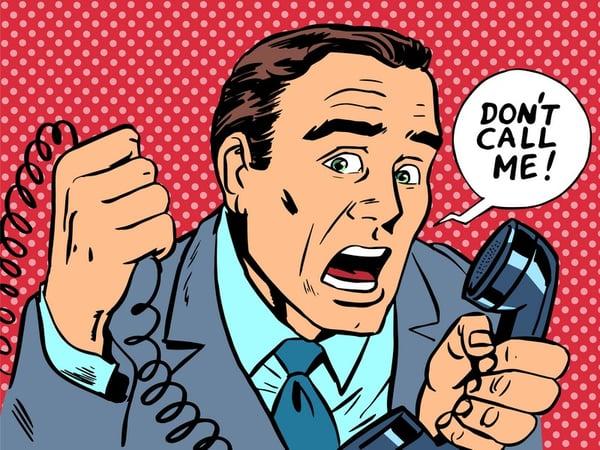Ne m'appelez plus !
