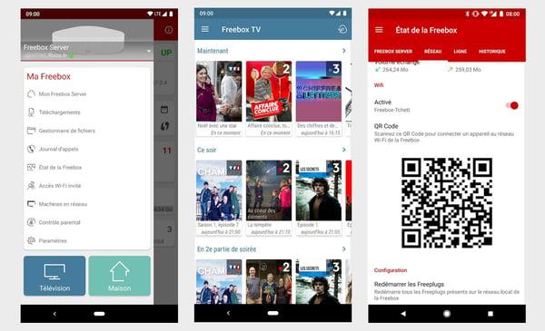 application Freebox Compagnon sur Android et iPhone