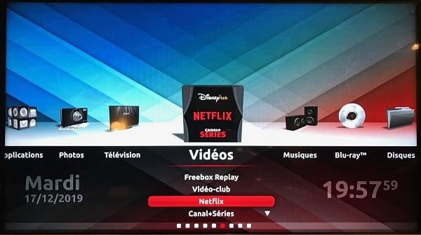 pour s'abonner à Netflix depuis sa Freebox, il faut mettre à jour le Freebox Player.