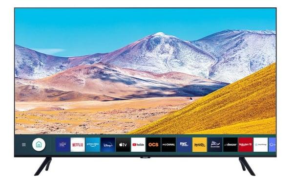 Cette smart TV de Samsung permet de regarder de nombreuses applications comme Netflix, Youtube ou encore OCS et Molotov.