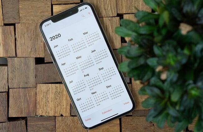 Calendrier sur l'Iphone X : à quelle date le vendre ?