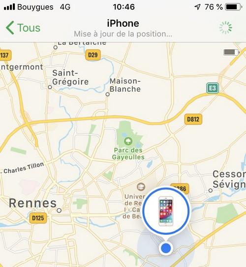 comment localiser mon portable gratuitement