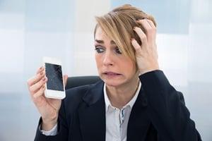 Votre écran de smartphone est fissuré ?