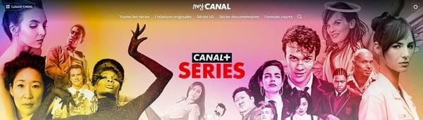 Canal+ Séries est le service de SVoD de Canal+