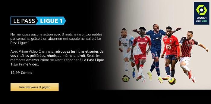 Le pass Ligue 1, c'est la nouvelle chaîne pour regarder la Ligue 1
