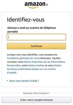 Il faut avoir un compte Amazon pour accéder à Amazon Prime et avoir accès au service de streaming vidéo.