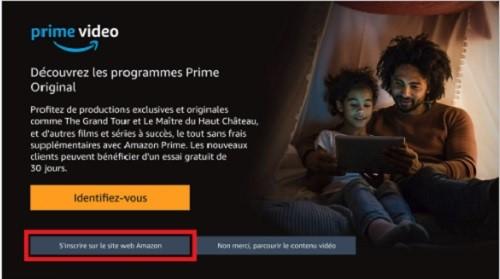 Il est possible de s'abonner à Amazon Prime Video depuis sa box SFR