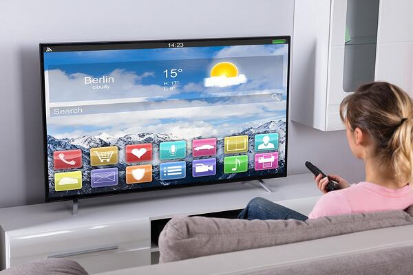 La TV par Internet via un téléviseur connecté