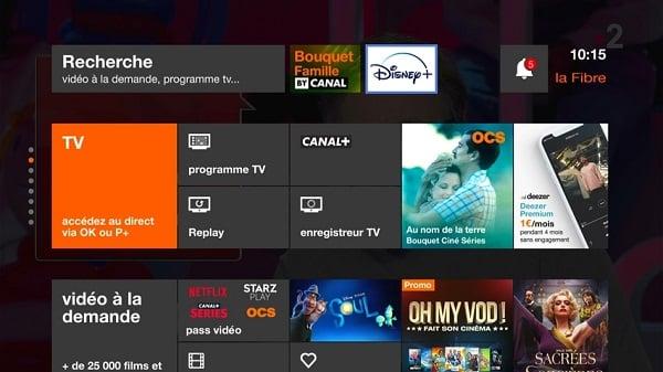 Accéder à Disney+ avec Orange directement sur sa télévision avec le décodeur TV UHD