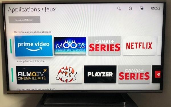 L'application Amazon Prime Video est disponible sur les Bbox de Bouygues