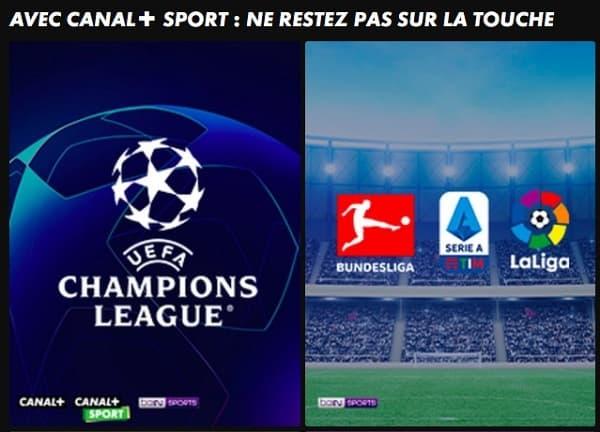 L'offre Canal+ Sport est l'abonnement le plus complet en matière de sport.