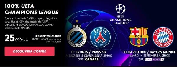 La série limitée 100% UEFA Champions League avec Canal+ et beIN Sports
