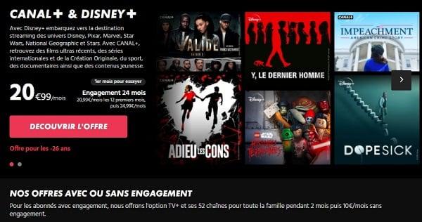 La nouvelle série limitée Canal+ Disney+