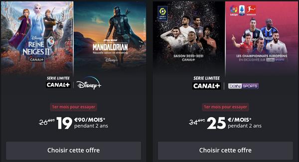 Les séries limitées Canal sont de nouvelles offres Canal ponctuelles