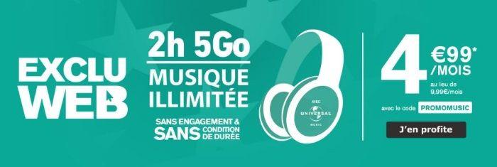 Forfait en promo chez La Poste Mobile : 5 Go pour 4,99 euros à vie