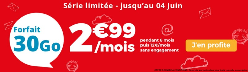 Forfait mobile : la série limitée Auchan Telecom en promotion