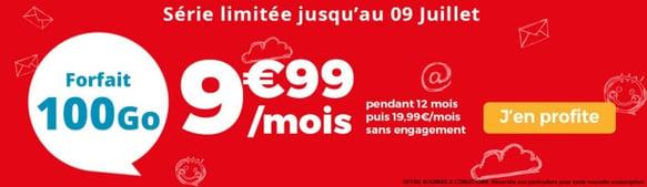 Forfait pas cher : 100 Go de 4G à 10 euros par mois chez Auchan Telecom