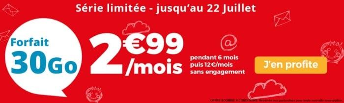 Le meilleur prix pour un forfait mobile chez Auchan Telecom