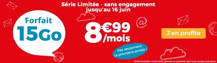 Forfrait mobile en promotion : bon plan Auchan Telecom