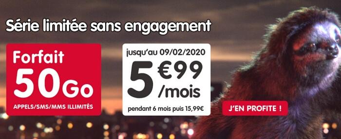 Souscrire le forfait mobile en promotion de NRJ Mobile
