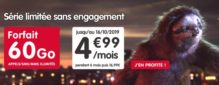 NRJ Mobile : forfait 4G à prix réduit