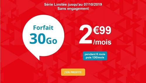 La série limitée Auchan télécom est le forfait le moins cher et permet de faire des économies pour acheter l'iPhone 11
