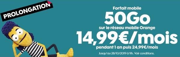 Un forfait mobile Sosh est 5 à 10€ moins chers qu'Orange