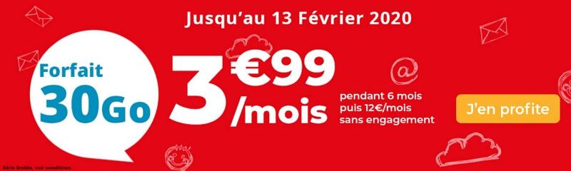 Les conditions de souscription de l'abonnement mobile à 3,99 euros par mois d'Auchan Telecom